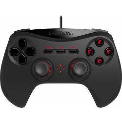 Kontroler za PS3 SPEEDLINK STRIKE NX crni
