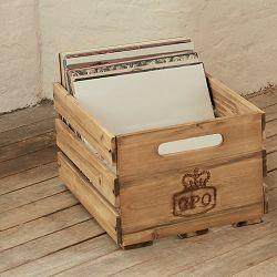 Sanduk za gramofonske ploče GPO RETRO CASSA