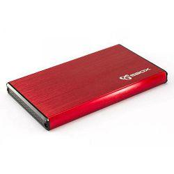 Ladica za hard disk SBOX HDC-2562 (USB 3.0) crvena