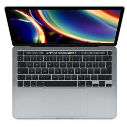 Laptop APPLE MacBook Pro 13 Touch Bar/QC i5 2.0GHz/16GB/1TB SSD/Intel Iris Plus Graphics w 128MB/Space Grey - CRO KB, mwp52cr/a