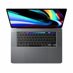Laptop APPLE MacBook Pro 16 Touch Bar/6-core i7 2.6GHz/16GB/512GB SSD/Radeon Pro 5300M w 4GB - Space Grey - INT KB, mvvj2ze/a