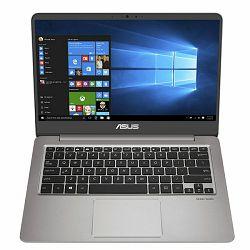 Laptop ASUS UX410UA (14, i7, 8GB RAM, 1TB HDD, 128GB SSD, Intel HD, Win10)