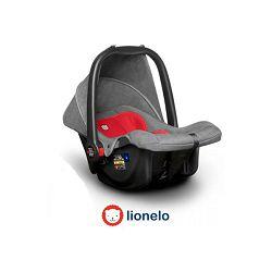 Autosjedalica i nosiljka LIONELO NOA PLUS sivo/crvena