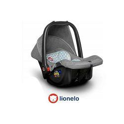 Autosjedalica i nosiljka LIONELO NOA PLUS sivo/scandi