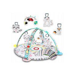 Lionelo dječja podloga za igru - edukativni madrac s igračkama + svjetla Paula