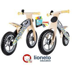 Lionelo dječji bicikl drveni - guralica Casper 12
