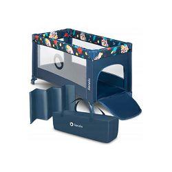 Lionelo dječji prijenosni krevetić Stefi, plava, 5g JAMSTVA