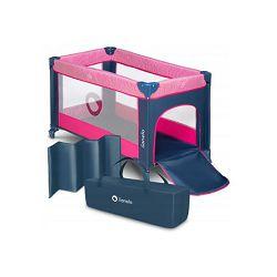 Lionelo dječji prijenosni krevetić Stefi, roza, 5g JAMSTVA