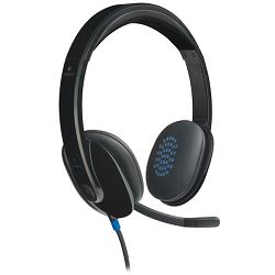 Slušalice s mikrofonom LOGITECH H540 USB