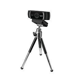 Web kamera LOGITECH C922 HD stream, 1080p, tripod