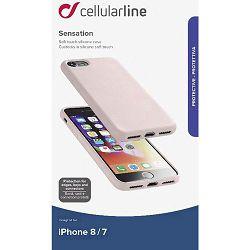 Maska za mobitel CELLULARLINE iPHONE 7/8 pink