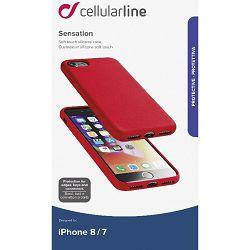 Maska za mobitel CELLULARLINE iPHONE 7/8 crvena