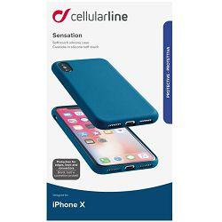 Maska za mobitel CELLULARLINE IPHONE X/ XS plava