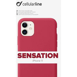 Maska za mobitel CELLULARLINE za iPHONE 11 sensation crvena