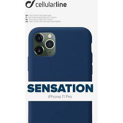 Maska za mobitel CELLULARLINE za iPHONE 11 PRO sensation plava