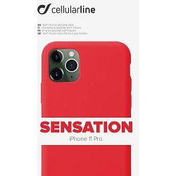Maska za mobitel CELLULARLINE za iPHONE 11 PRO sensation crvena
