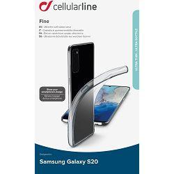 Maska za mobitel CELLULARLINE za SAMSUNG GALAXY S20 prozirna
