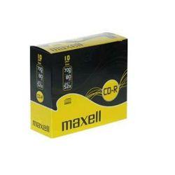 Maxell CD-R 52x, 700MB, 10 slim kom u kutiji