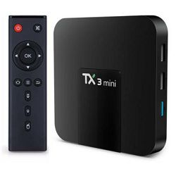 Media box ANDROID 4K TX-TURBO (AMLOGIC S905W, 2GB RAM, 16GB HDD Android 7.1, WiFi)