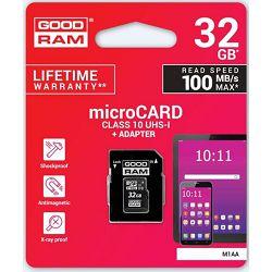 Memorijska kartica GOODRAM SD MICRO 32GB + adap.