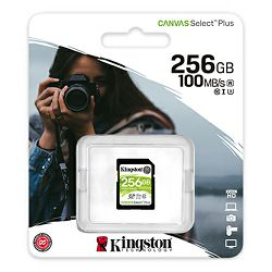Memorijska kartica KINGSTON 256GB Canvas Select Plus 100R