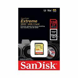 Memorijska kartica SANDISK EXTREME SDXC 128GB 150MB/s UHS-I