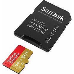 Memorijska kartica SANDISK microSD 64GB Extreme