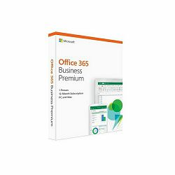 Microsoft Office 365 Business Premium Eng retail Medialess 1 g.