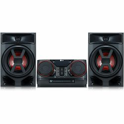 MINI HIFI LG CK43 (300W, Multi Bluetooth, TV Sound Sync, 2 x USB)