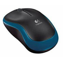 Miš bežični LOGITECH M185 plavi