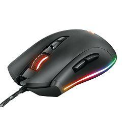 Miš TRUST GXT 900 QUDOS, RGB, gaming