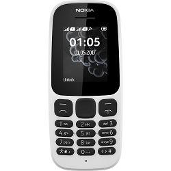 Mobitel NOKIA105 (2017) Dual-SIM bijeli
