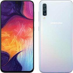 Mobitel SAMSUNG GALAXY A50 SM-A505F DS 128GB bijeli + poklon powerbank 6000 mAh