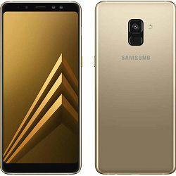 Mobitel SAMSUNG GALAXY A8 (2018) A530F 4G 32GB DS gold + poklon powerbank 6000 mAh