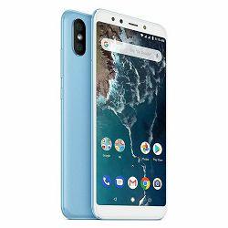 Mobitel XIAOMI Mi A2 64GB DS plavi + poklon powerbank 6000 mAh