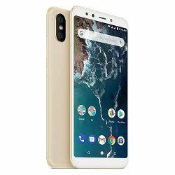 Mobitel XIAOMI Mi A2 64GB DS zlatni + poklon powerbank 6000 mAh