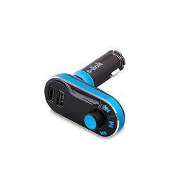 MP3 transmiter S-LINK SL-FM66, utor za memor. kartice, 2 x USB