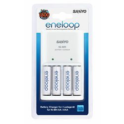 Punjač za baterije SANYO  ENELOOP MQRO6-4AA 1800mAh