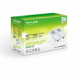 Mrežna oprema POWERLINE TP-LINK PA4010P KIT 500MBPS POWERLINE S UTIČNICOM