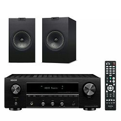 Mrežni receiver DENON DRA-800H + zvučnici KEF Q350 crni