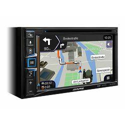 """Multimedija i navigacija ALPINE INE-W611D (6.5"""", DAB+, iGo Primo NextGen navigacija, Apple CarPlay i Android Auto)"""