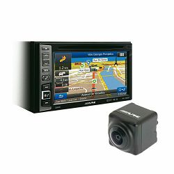 Multimedija i navigacija ALPINE INE-W990BT (Bluetooth, USB, CD, DVD, iPhone/iPod) + parking kamera HCE-C1100