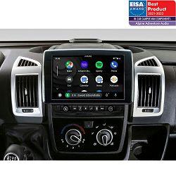 """Multimedija i navigacija ALPINE X903D-DU (9"""", za Fiat Ducato III,  Citroen Jumper II i Peugeot Boxer II)"""