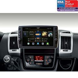 "Multimedija i navigacija ALPINE X903D-DU2 (9"" okretni zaslon, za Fiat Ducato III, Citroen Jumper II i Peugeot Boxer II)"