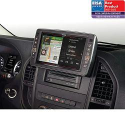 """Multimedija i navigacija ALPINE X903D-V447 za Mercedes Vito (9"""", TomTom karte, Apple CarPlay, Android Auto)"""