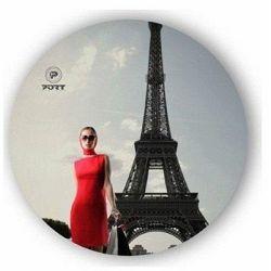 Podloga za miš PORT Eco City Paris
