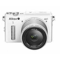 Fotoaparat NIKON 1 AW1 + 1 NIKKOR AW 11-27,5 mm bijeli