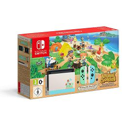 Igra ća konzola NINTENDO Switch - Green & Blue Joy-Con HAD Animal Crossing New Horizons Bundle - preorder