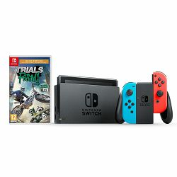 Igraća konzola NINTENDO Switch Console - Red & Blue Joy-Con HAD + Trials Rising Gold Edition Switch