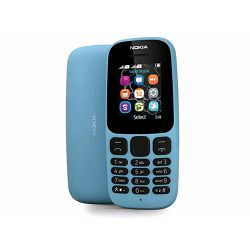 Mobitel NOKIA 105 (2017) Dual-SIM plavi